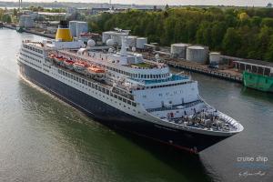 Saga-Sapphire-Nord Ostsee Kanal Kiel-9070