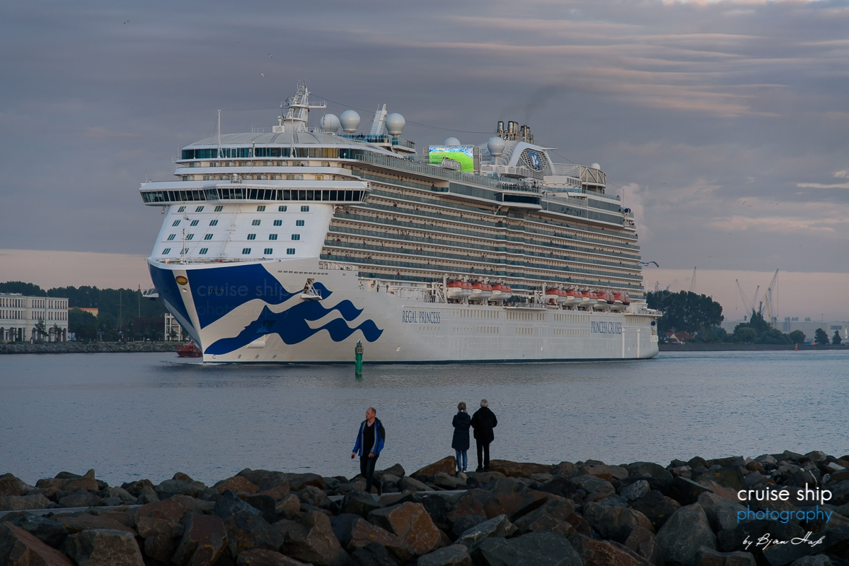 Regal Princess Cruise Ship Photography