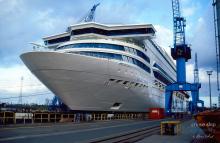 Meyer-Werft-Silja-Europa-Dock-