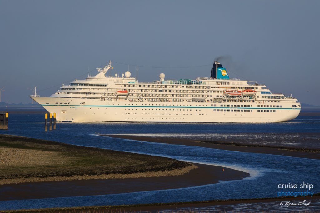 Die MS Amadea von Phoenix Reisen das ZDF Traumschiff