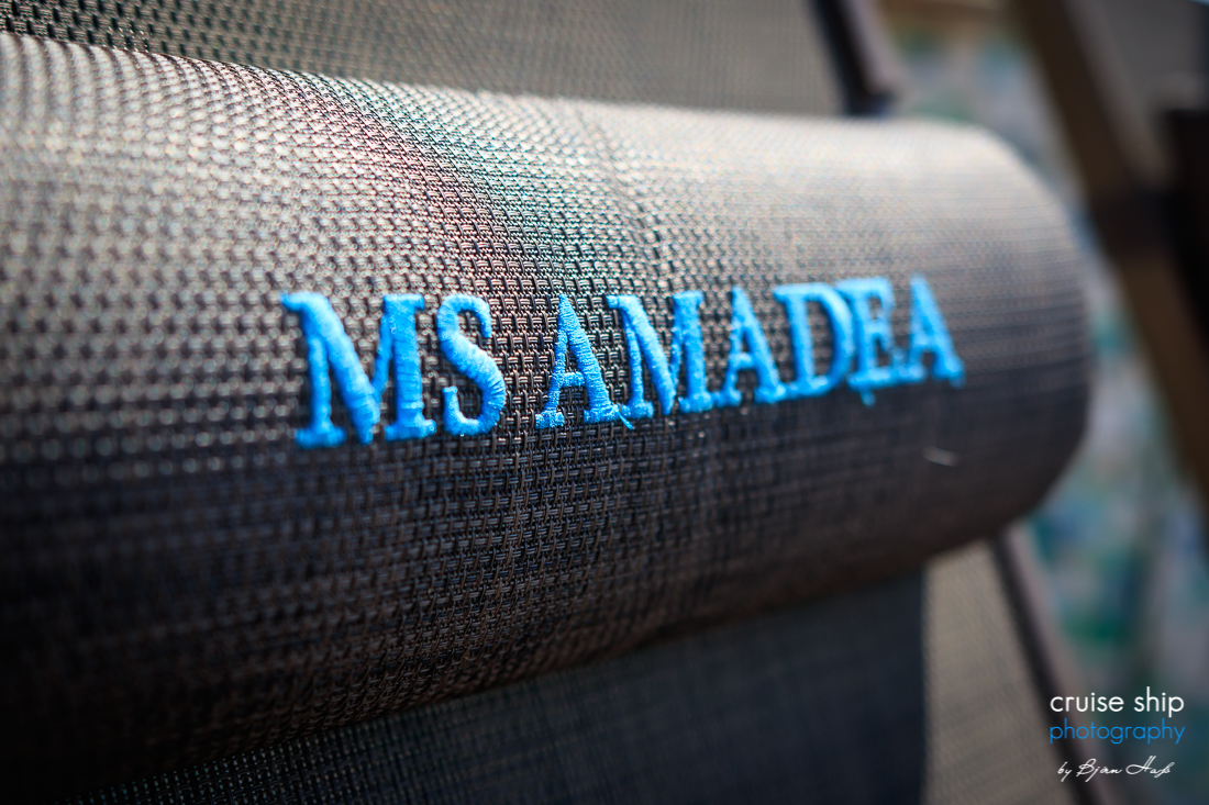 An Bord der MS Amadea