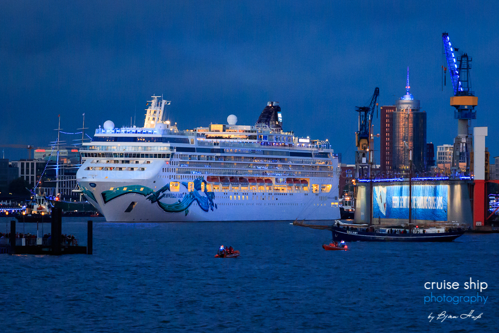 Norwegian Jade bei den Cruise Days 40