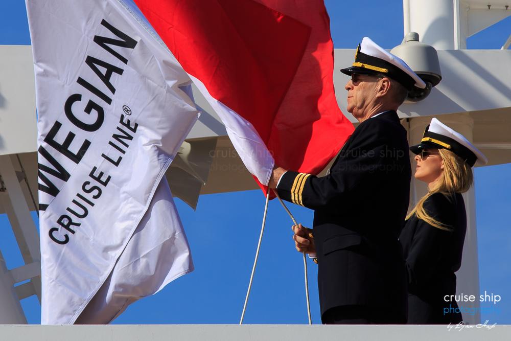 Meyer Werft übergibt die Norwegian Bliss an NCL
