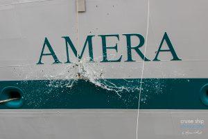 Taufe der Amera von Phoenix Reisen in Bremerhaven