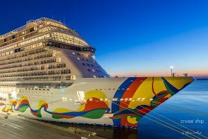 Norwegian Encore: Neuestes Schiff der Breakaway-Plus-Klasse vervollständigt Flotte von Norwegian Cruise Line