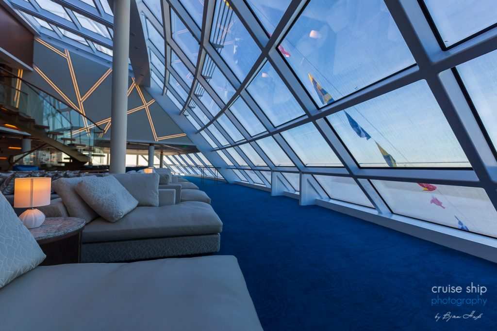 Die Horizon Lounge auf der Norwegian Encore