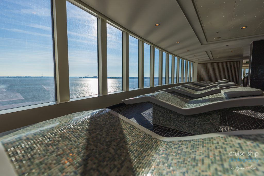 Der Mandara Spa der Norwegian Encore