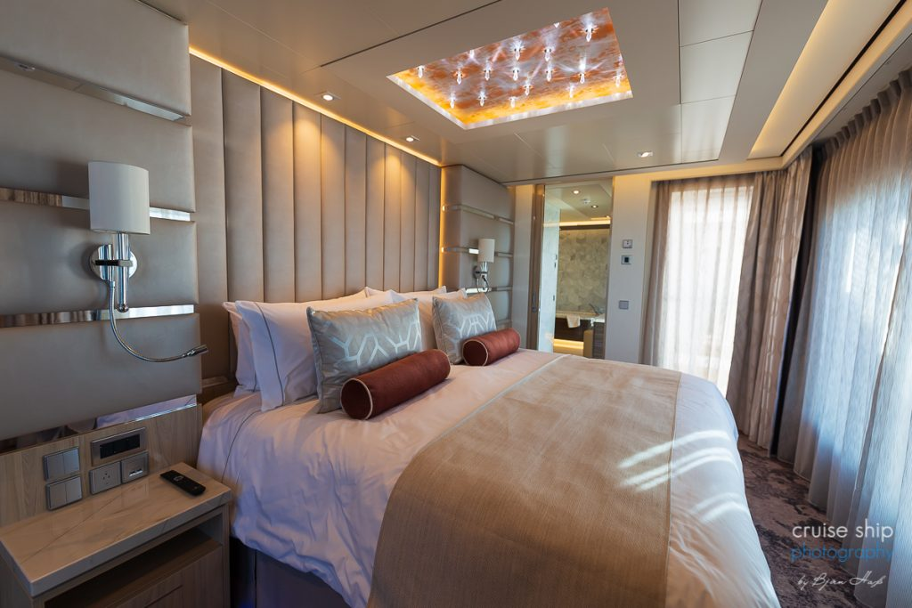 The Haven Deluxe Owner Suite auf der Norwegian Encore
