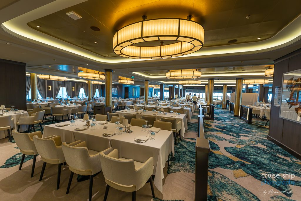 Das Restaurant The Manhattan Room auf der Norwegian Encore