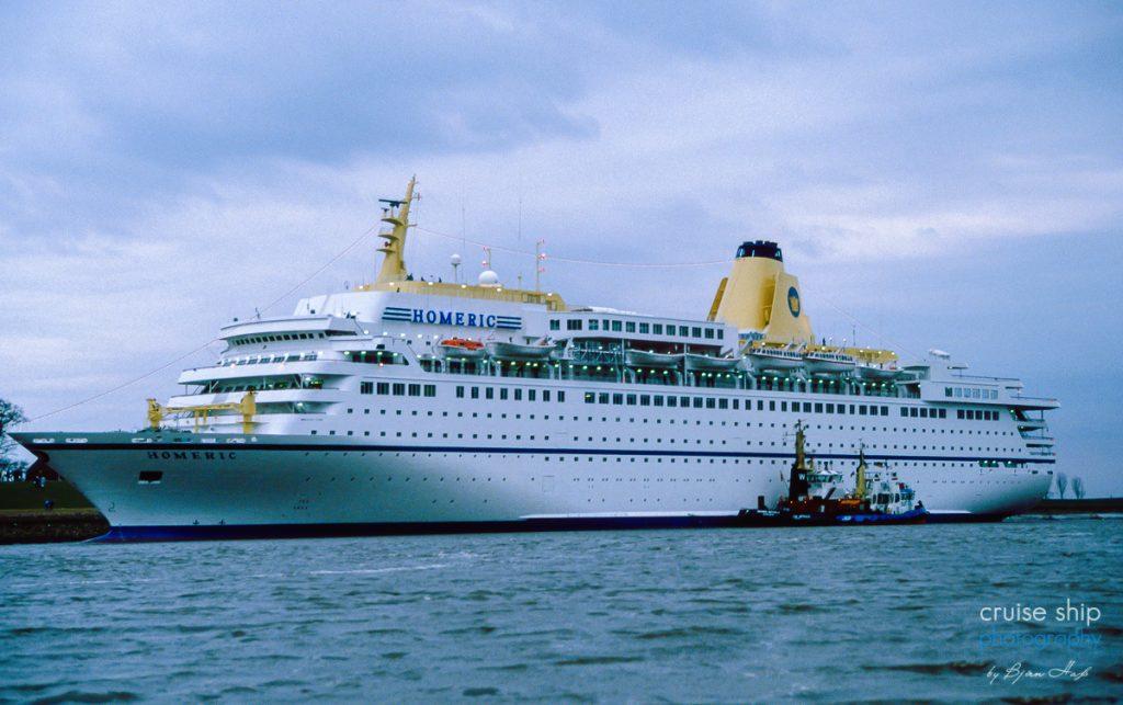 Das Kreuzfahrtschiff Homeric wurde von der Meyer Werft gebaut
