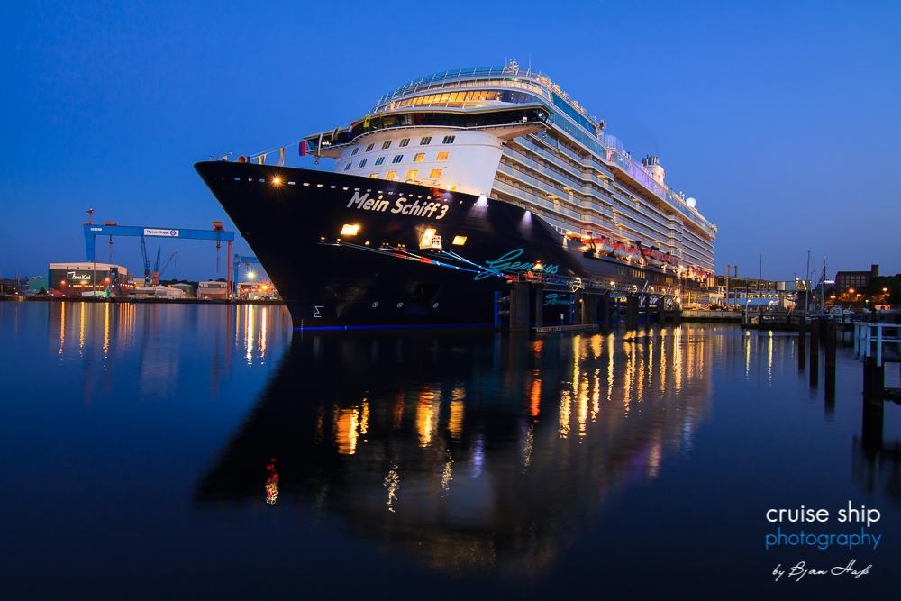 Kreuzfahrtschiffe in Kiel 2020 1