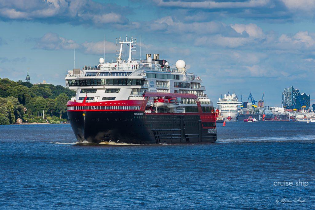 Erfolgreicher Hurtigruten Neustart ab Hamburg mit MS Fridtjof Nansen 2