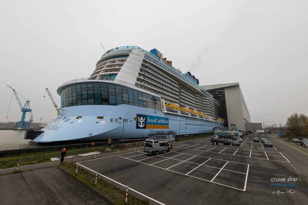 Meyer Werft: Odyssey of the Seas verlässt Baudock 1