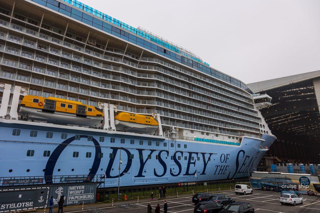 Meyer Werft: Odyssey of the Seas verlässt Baudock 3