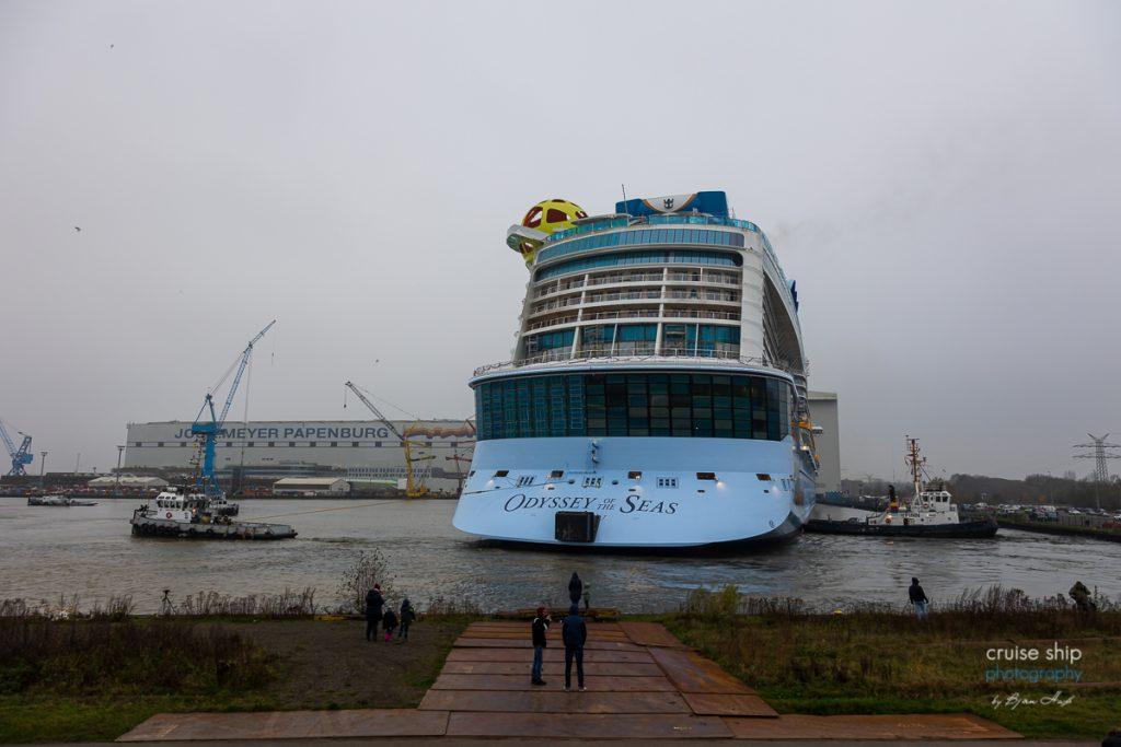 Meyer Werft: Odyssey of the Seas verlässt Baudock 4