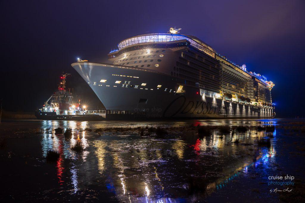 Odyssey of the Seas beginnt Emsüberführung 4