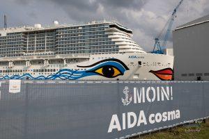 Read more about the article AIDAcosma verlässt Baudock der Meyer Werft