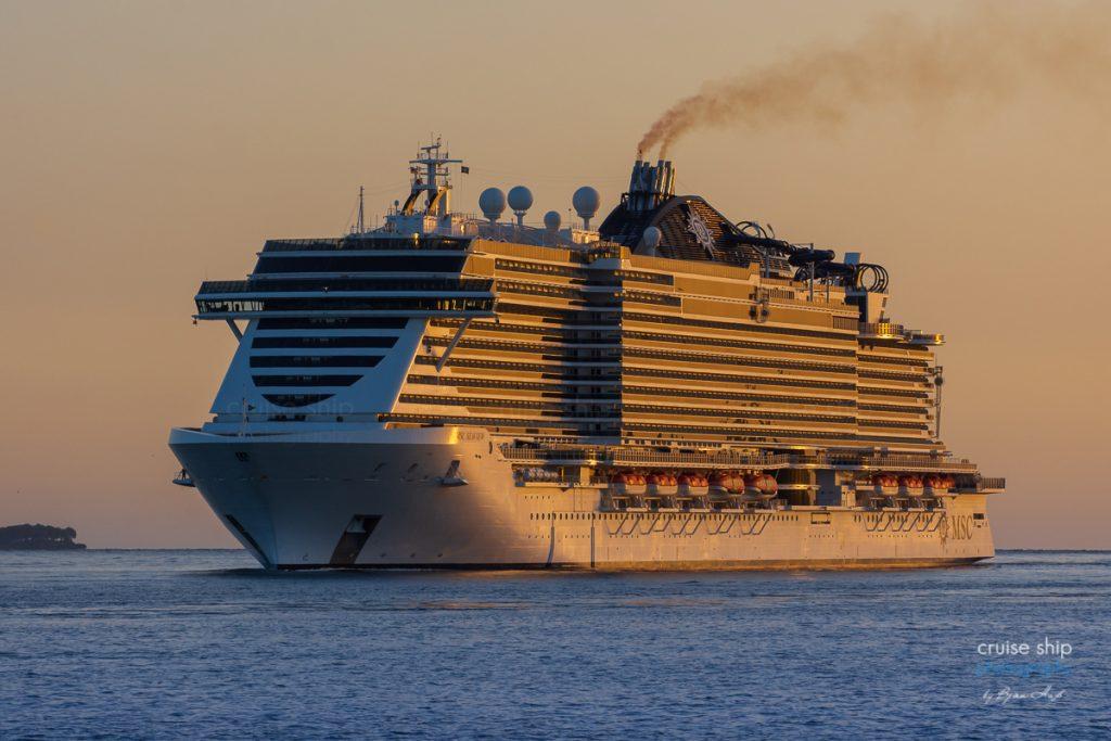 MSC Seaview Kiel